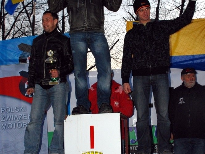 Mistrzostwa Polski enduro podium