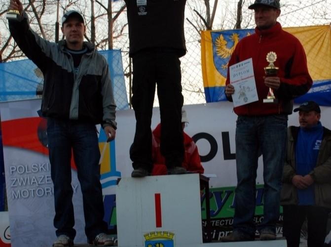 wreczenie nagrod klasa e1 enduro Mistrzostwa Polski