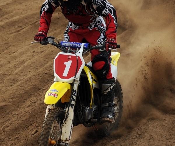 ostra jazda motocross