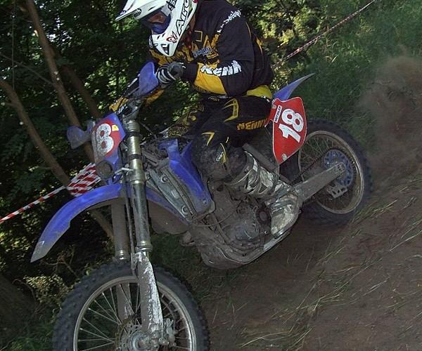 Artur Lukasik na trasie