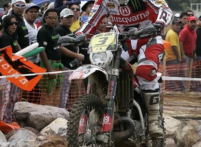 Mistrzostwa Swiata Enduro WEC Meksyk 2009 Husqvarna Racign