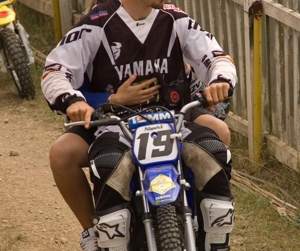 david philippaerts yamaha pocket bike