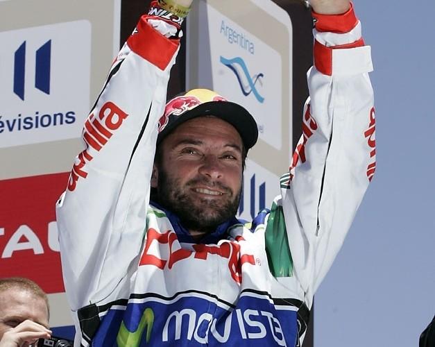 Chaleco Lopez zdobywca 3 miejsca dakar 2010