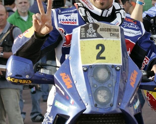 KTM Despres meta Dakar 2010