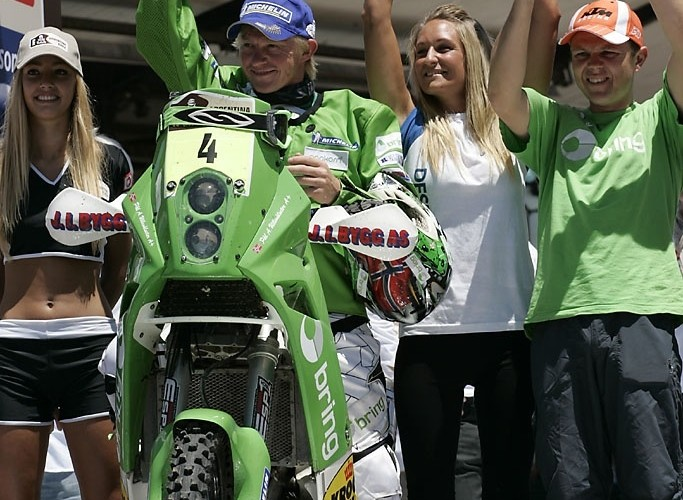 Pal Anders Ullevalseter 2 miejsce Dakar 2010 meta