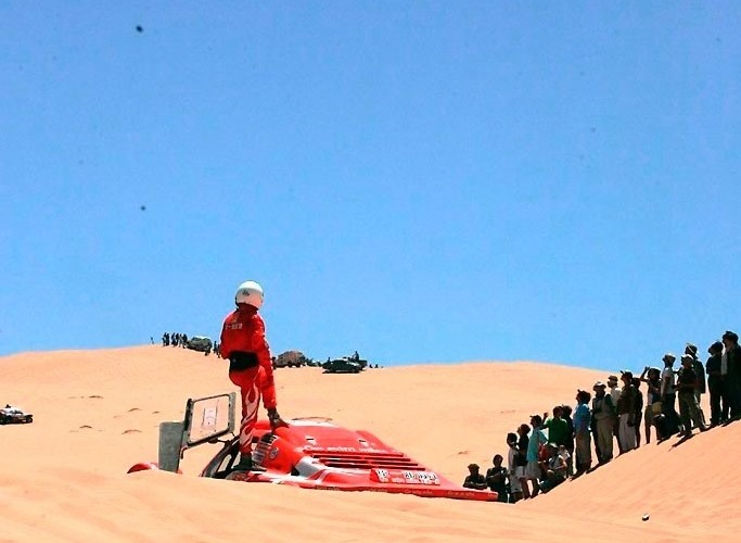 Gazelle - Rajd Dakar 2009 Pustynia Atacama