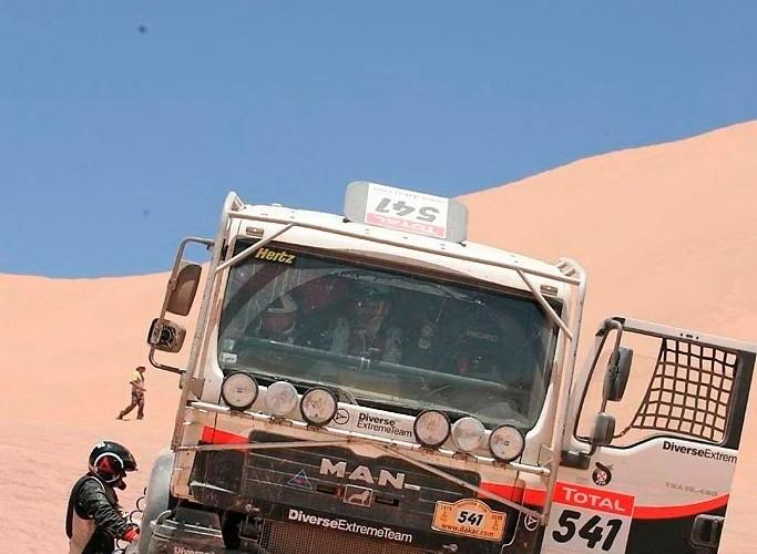 Rajd Dakar 2009 Pustynia Atacama Diverse Extreme Team