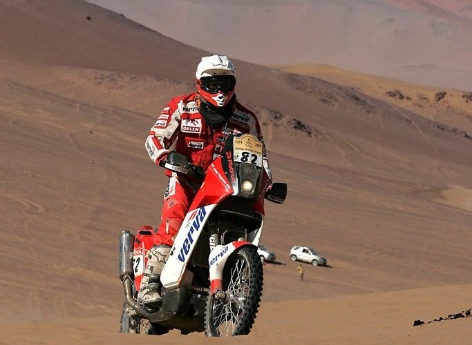 Kuba przygonski Rajd Dakar 2009 Atacama