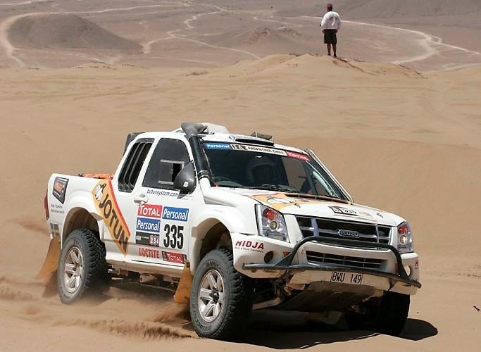 Isuzu Rajd Dakar 2010 opuszcza pustynie