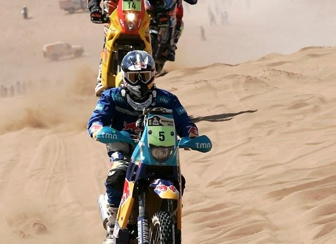 Rajd Dakar 2010 opuszcza pustynie 1