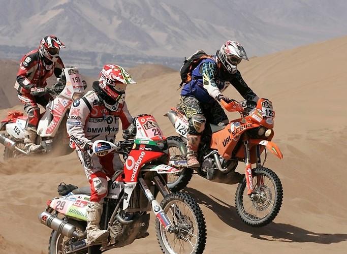 Rajd Dakar 2010 opuszcza pustynie BMW G450X