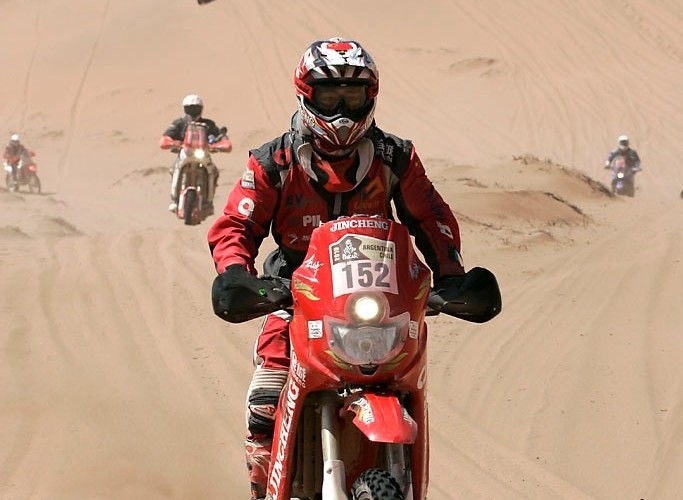 Rajd Dakar 2010 opuszcza pustynie Chinskie Enduro