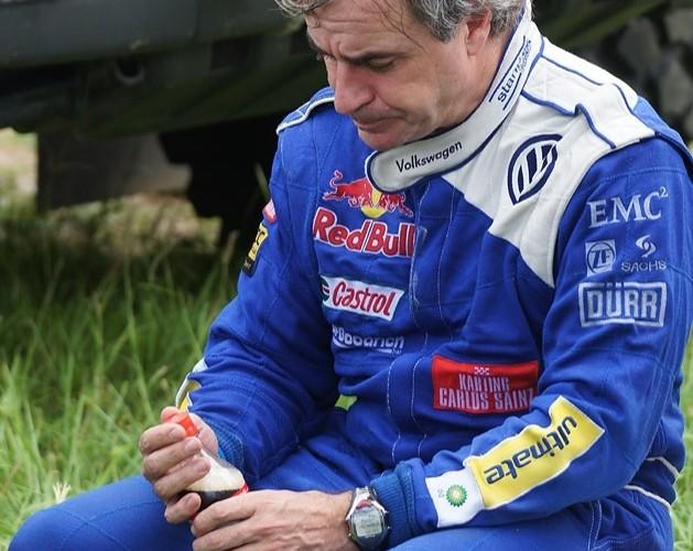 Dakar 2010 zawodnik volkswagena odpoczynek