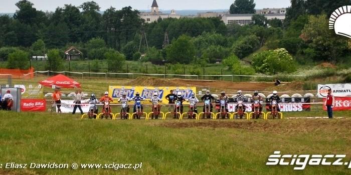 Damski motocross Mistrzostwa Polski Glogow