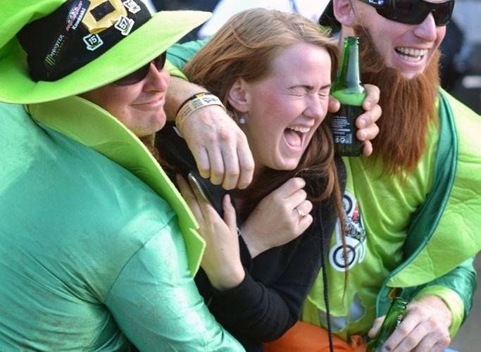 irlandia kibice fani piwo