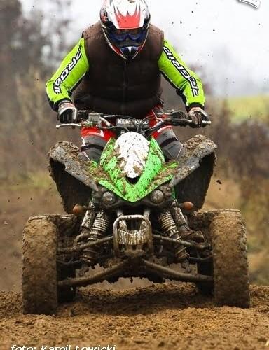 Kawasaki KFX 450 jazda testowa