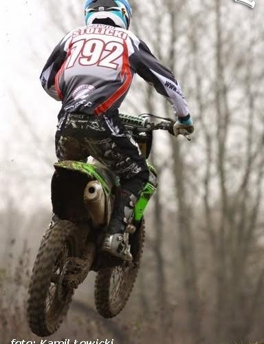Kawasaki KX 250 testy Dawid Stolicki