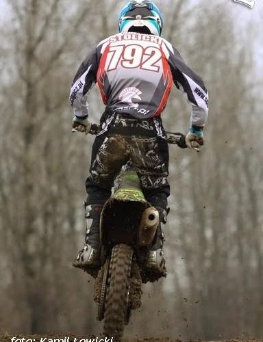 Lomianki tor motocrossowy hopa Dawid Stolicki