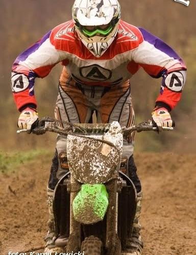 kierowca motocykla kx testy