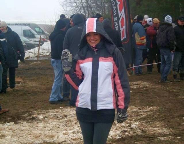 Basia fanka quadowego snow crossu