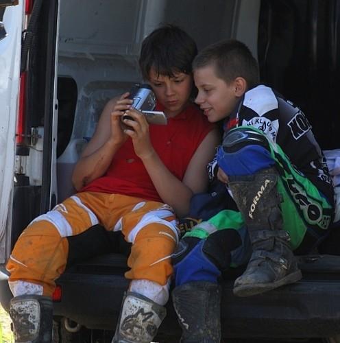 mx65 zawodnicy motocrossowe mistrzostwa polski strykow 2010