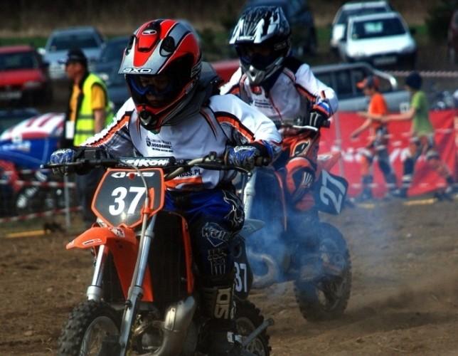 Adrian Koszalka Przemek Boguslawski zawody motocyklowe
