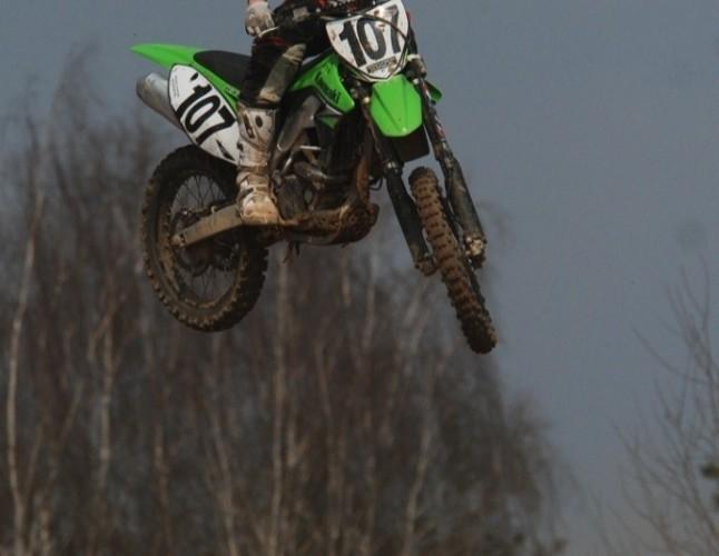Grodzki hopa motocross