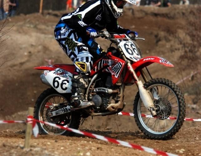 Joanna Miller dziewczyna motocross zawody