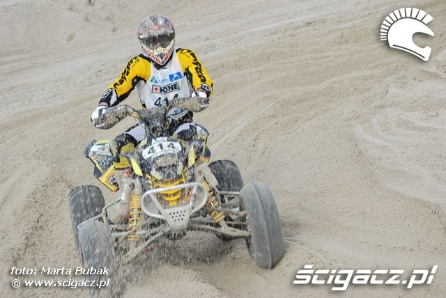 quad Can-am zawody le touquet 2010