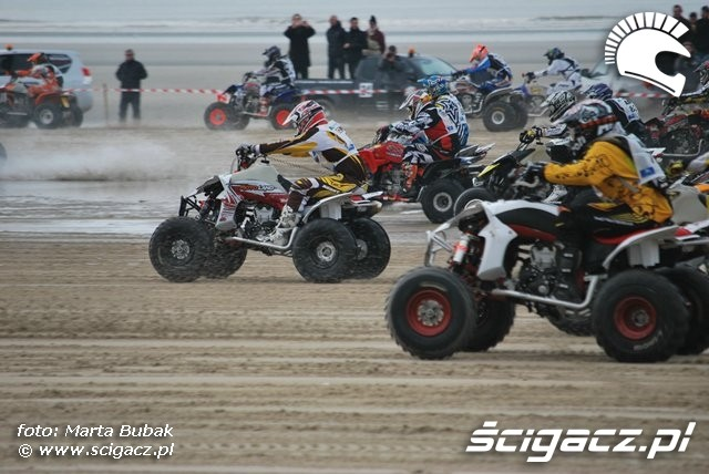 quady start zawody Le Touquet 2010