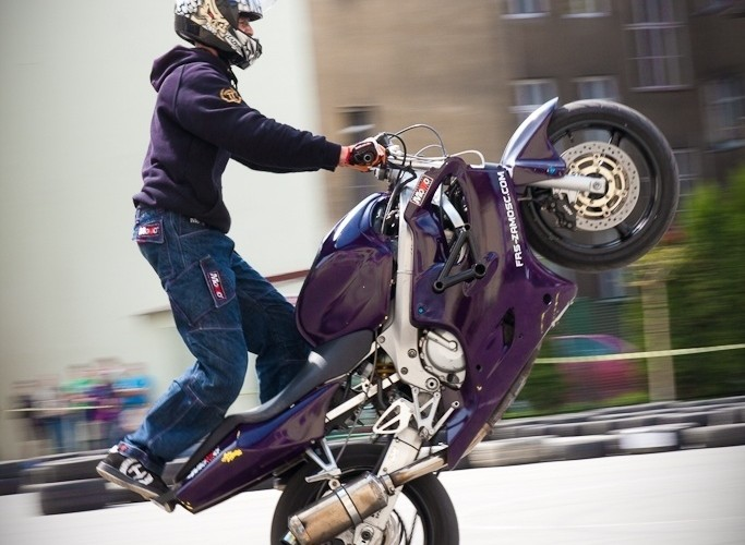 wheelie Extremeday Rzeszow 2009