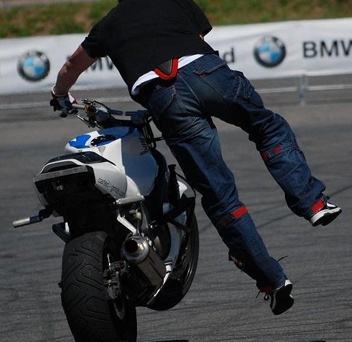 German Open stunt show