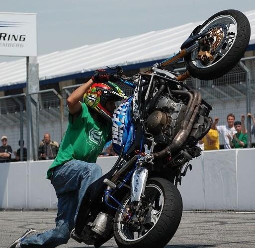 Jorian Ponomareff stunt show Germany