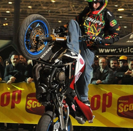Eurexpo Jorian Ponomareff stunt show