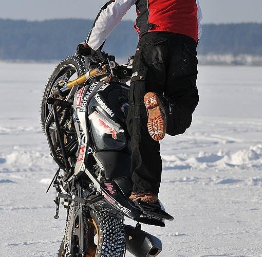 Mok cyrkle na lodzie