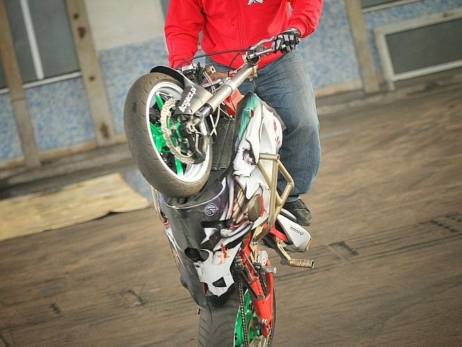 Stunt ustawka styczen 2011 Beku