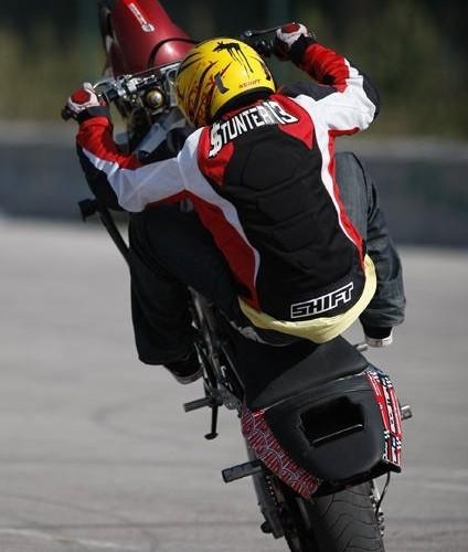 Hiszpanska stunt ustawka Stunter13