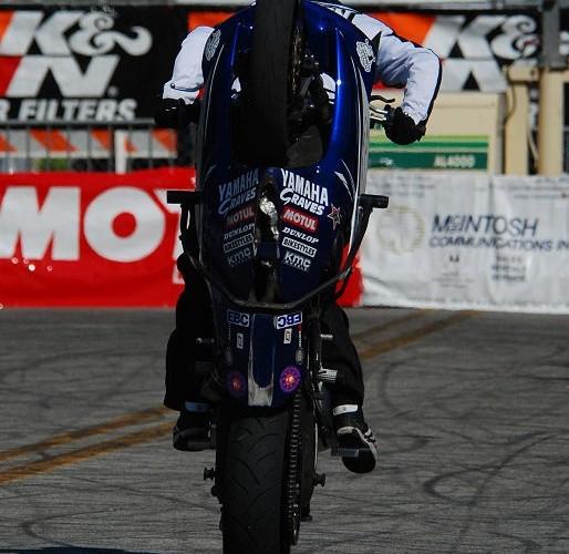 Bill Dixon switchback wheelie