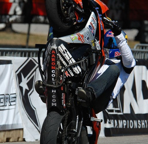 Colton sitdown wheelie XDL