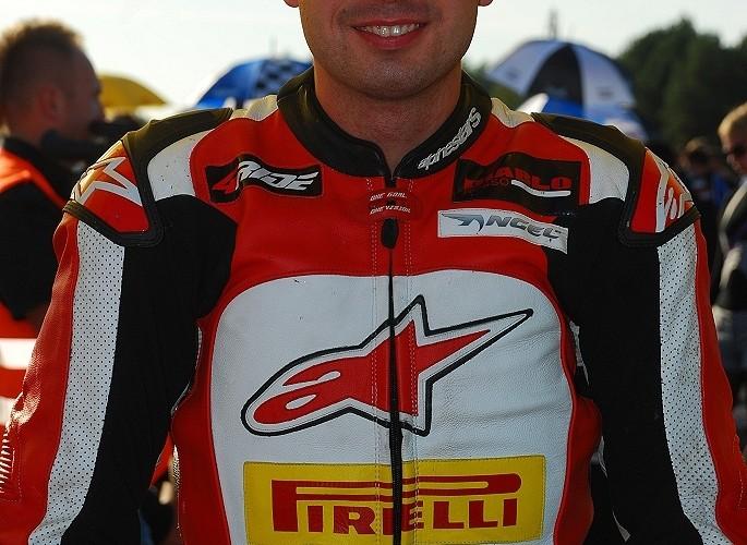 Bartek Wiczynski przed startem
