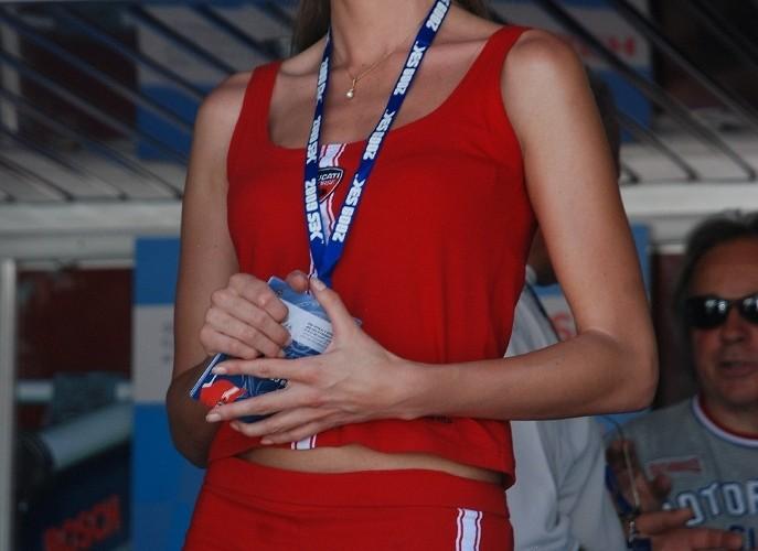 Bosch girl paddock Misano