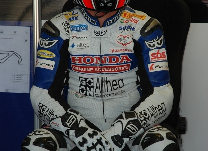 Honda Althea Racing rider