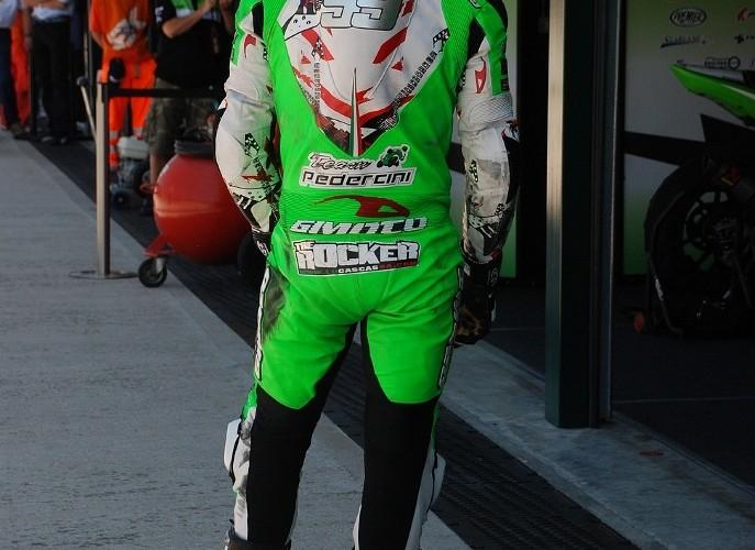 Luca Scassa Team Pedercini