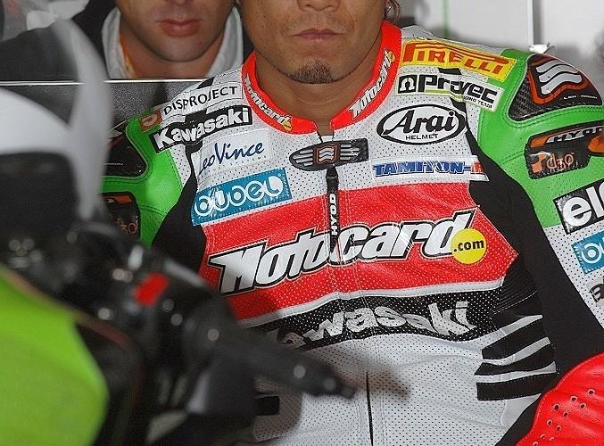 Makoto Tamada Kawasaki Racing Team