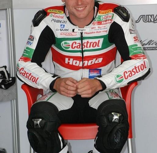 Alexander Lowes Castrol Honda Team