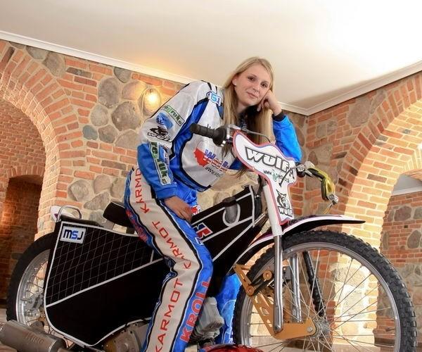 sportowy motocykl zuzlowy