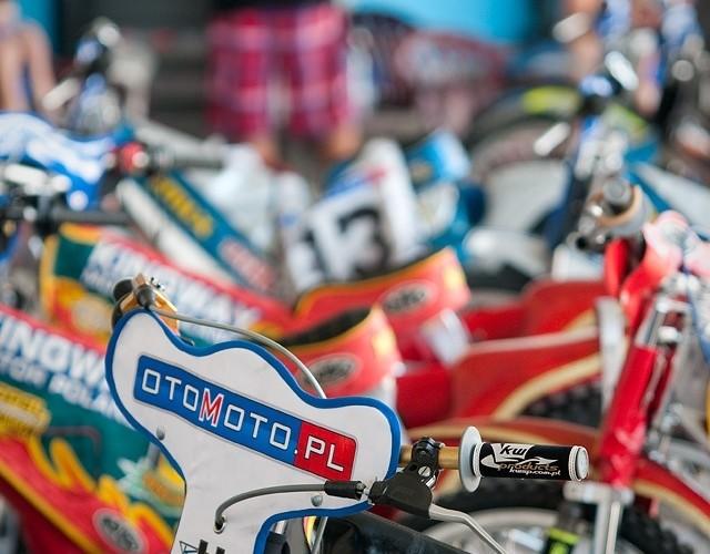 otomoto sponsor zuzel motocykl