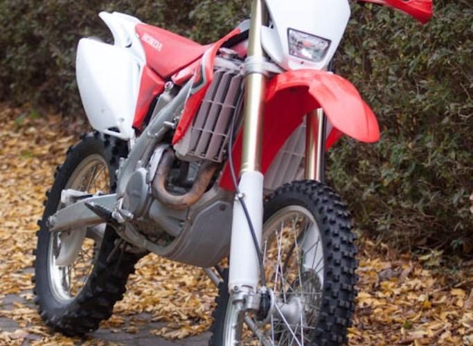 Honda CRF 450X po 50 mth