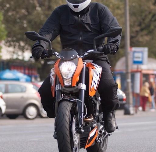 w miescie KTM Duke 200 scigacz pl