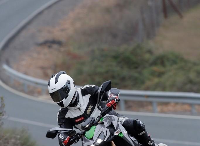 Kawasaki Z1000 2014 jazda